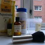 ingredienti per il deodorante